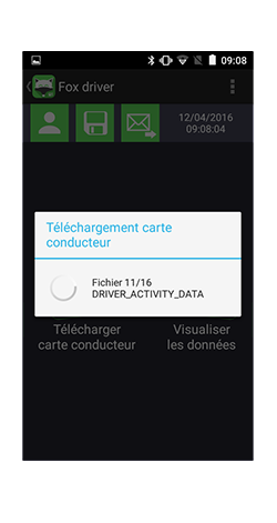 Télécharger la carte conducteur